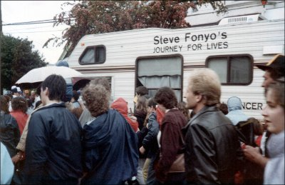 Steve Fonyo's Journey for Lives in 1985
